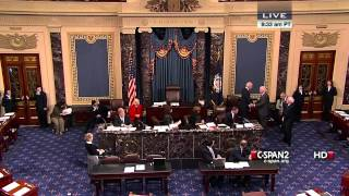 VP Biden swears in Sen Patrick Leahy (D-VT) as President Pro Tempore of the Senate