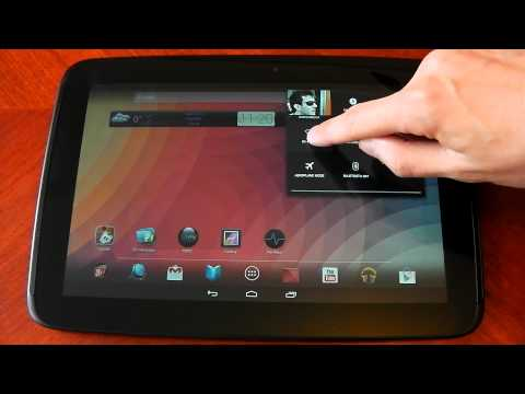 Nexus 10 - Android 4.2.2  - Changes / Updates