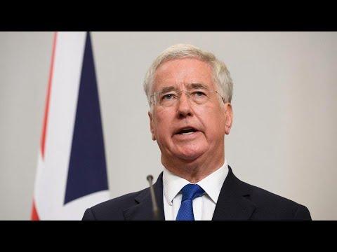 Michael Fallon resigns as Defence Secretary