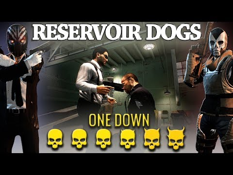 [Payday 2] Reservoir Dogs Heist - One Down *Duo* (No AI/Converts)