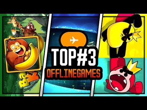 TOP 3 OFFLINE MOBILE GAMES ! AIRPLANE MODE IS NOT GOING TO STOP US ! (iOS / Android)