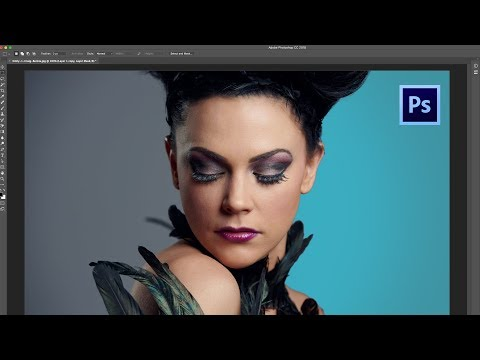 How to Add a COLORED BACKGROUND to a PORTRAIT