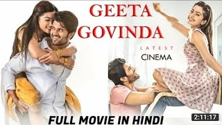 Geeta💓Govinda Full Movie Hindi Dub 2020 | Vijay Deverakonda | Rashmika Mandanna | Subbaraju