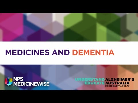 Medicines & dementia: what you need to know