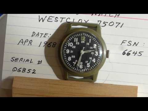 Military Field Watch, Vietnam Era