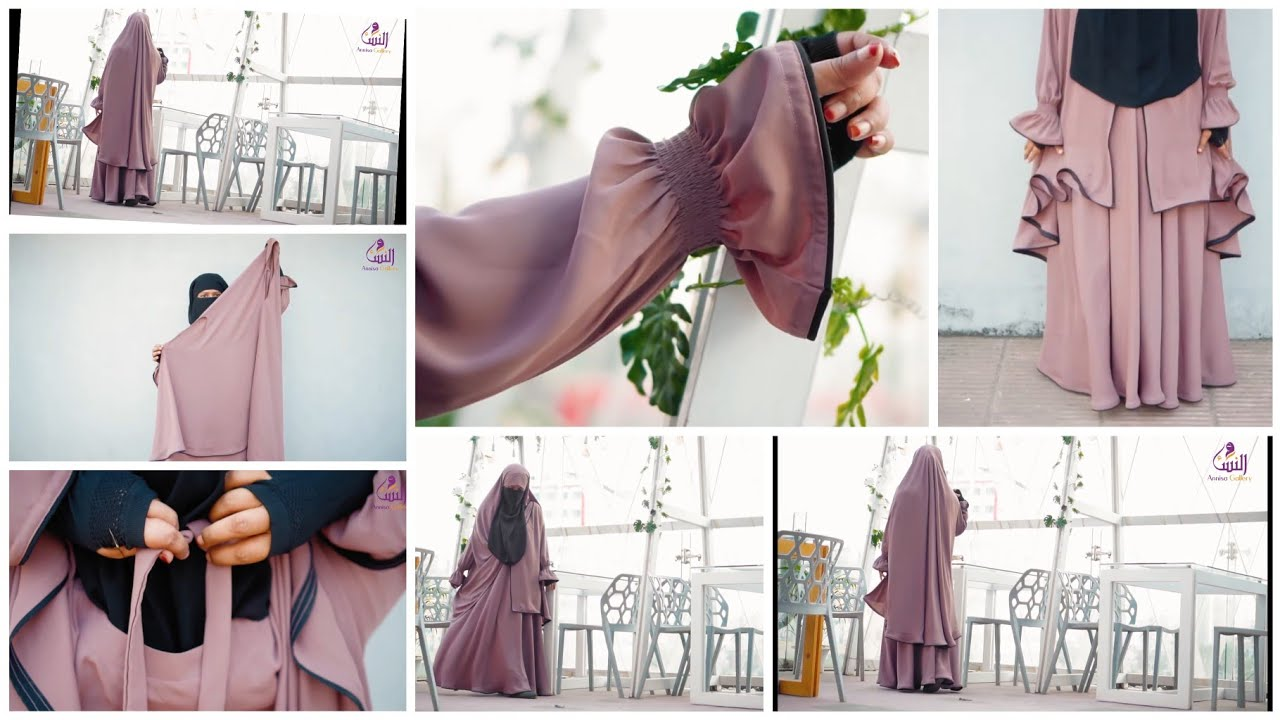 New style khimar tutorial 2020,latest khimar design,how to wear comfortable khimar/skirt NiqaBee ?