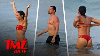 Channing Tatum and Jenna Dewan Tatum Hit The Beach | TMZ TV