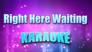 Monica & 112 - Right Here Waiting (Karaoke & Lyrics)