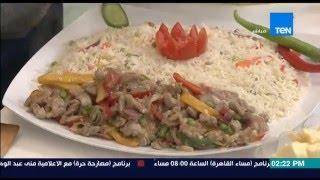 مطبخ 10/10 - الشيف أيمن عفيفي - الشيف نهلة شوقي - طريقة عمل تبنياكي اللحم الصيني
