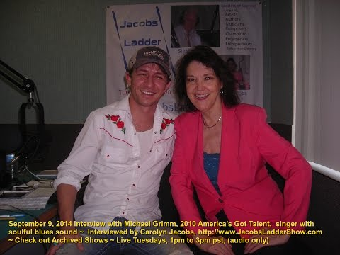 Michael Grimm interview by Carolyn Jacobs of http://www.JacobsLadderShow.com