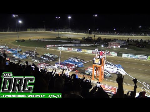 Lawrenceburg Speedway | 8/26/17 | Lucas Oil Late Model Dirt Series | Whiskey City 60