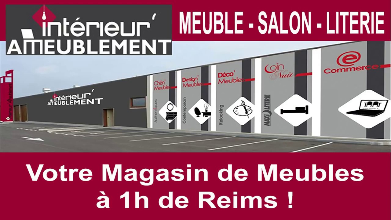 magasin meuble reims youtube. Black Bedroom Furniture Sets. Home Design Ideas