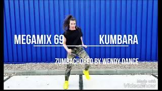 Zumba - MegaMix 69 - Kumbara - zumba choreo by Wendy Dance