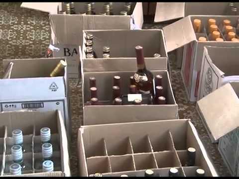 В Брянске полицейские пресекли торговлю контрафактным алкоголем