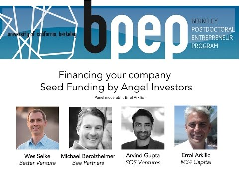 Fundraising Workshop: Financing your company (Seed Funding by Angel Investors and VC)