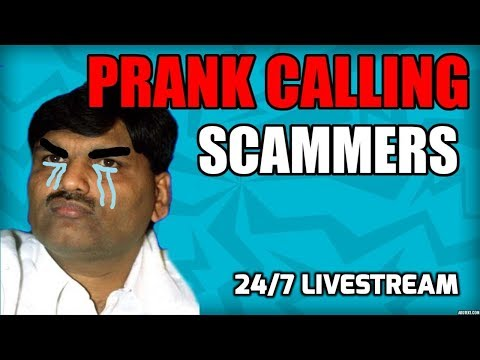 🔴 Prank Calling Scammers 24/7 LIVESTREAM