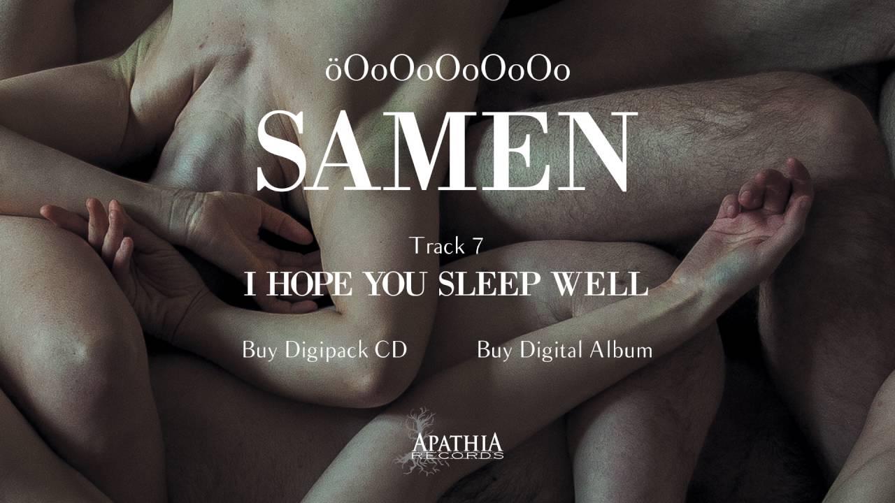 oooooooooo i hope you sleep well 2016 apathia records