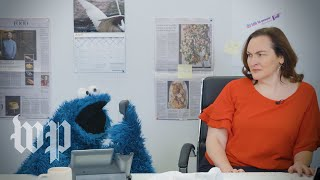 Cookie Monster crashes The Washington Post | Department of Satire
