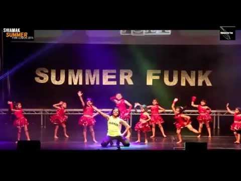 Aaj Ki Party  Shiamak Summer Funk London 2016 Harrow Kids summerfunk2016