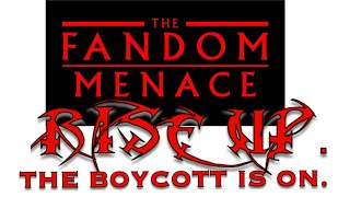 I am FURIOUS. The DISNEY Star Wars BOYCOTT is ON. THEY WILL APOLOGIZE TO STAR WARS THEORY.