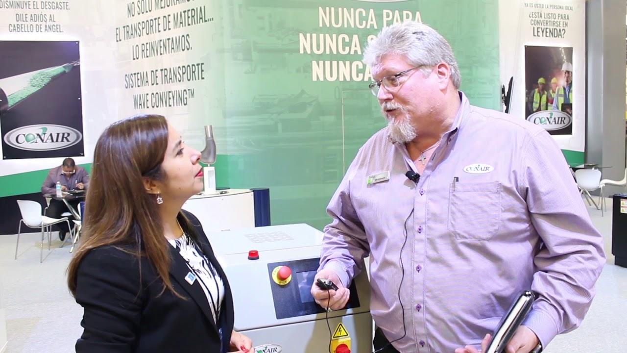 Conair presentó nuevas tecnologías en Expo Plásticos