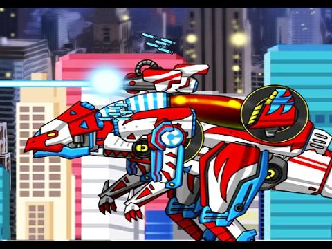 Динозавры РОБОТЫ мультик игра онлайн  Обзор игры ДИНОБОТЫ   собираем динозавров  DINO ROBOTS Online