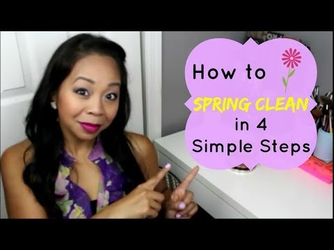 How to Spring Clean in 4 Simple Steps!