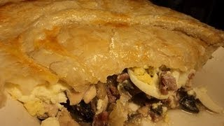 Irish Chicken And Mushroom Pie - Video Recipe