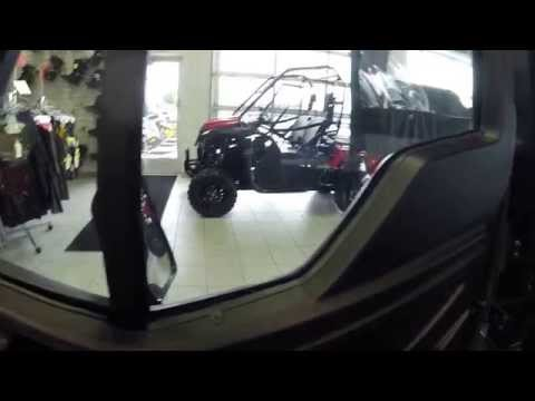 2016 HONDA PIONEER 1000-5 DELUXE WITH ALL WEATHER PACKAGE