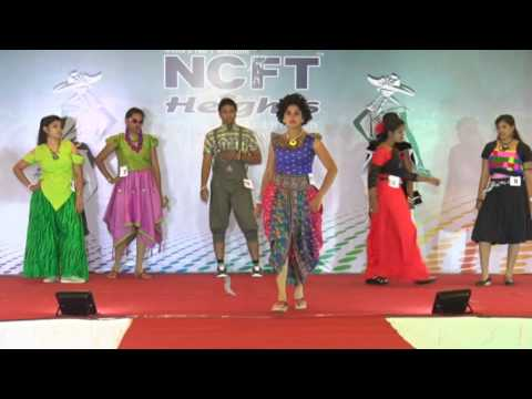 NCFT Heights Madurai Fashion Catwalk - Team 1 | NCFT Heights Fashion Contest 2016