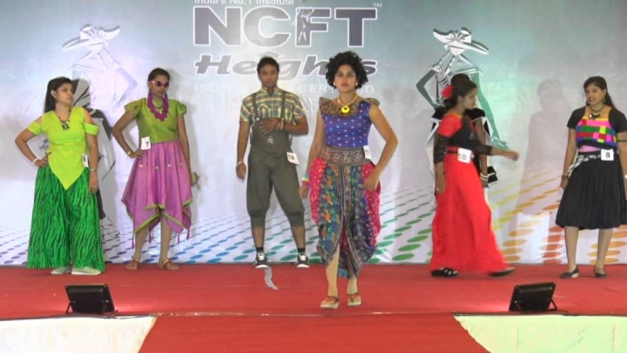 Ncft Heights Madurai Fashion Catwalk Team 1 Ncft Heights Fashion Contest 2016 Youtube