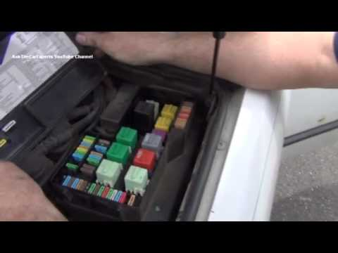 BMW E36 3 Series Cigarette Lighter Fuse Location - YouTube
