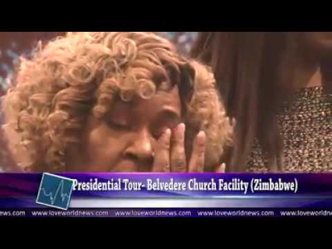 Pastor Chris visits the Belvedere Christ Embassy  Zonal Church in Zimbabwe