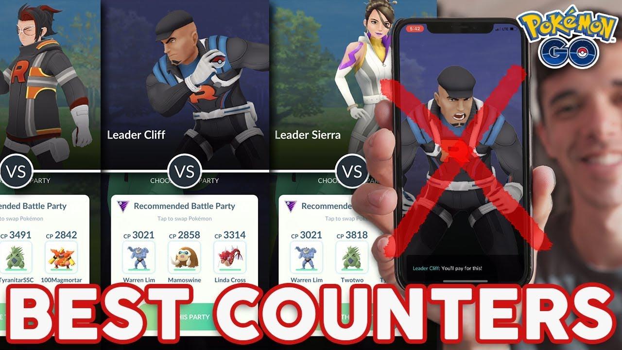 beat giovanni pokemon go
