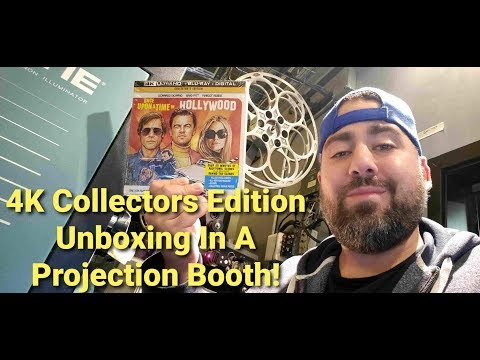 Once Upon A Time In Hollywood 4K & Blu Ray Collectors Edition Unboxing!!!