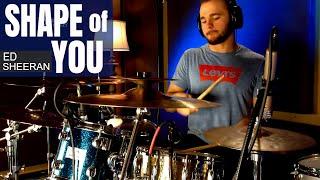 Ed Sheeran - Shape Of You Drum Cover (High Quality Audio) ⚫⚫⚫