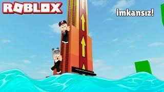 Yukarı Çık Suya Düşersen Kaybedebilirsin! - Panda ile Roblox Evolution Survival