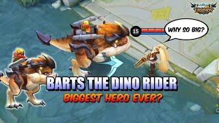 Download Mp3 NEW HERO BARTS THE BIGGEST HERO EVER NEW HERO IN MOBILE LEGENDS