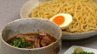 How to Make Tsukemen (Dipping Ramen Noodles Recipe) | Cooking with Dog