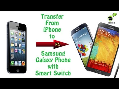 switching from iphone to galaxy transferring from iphone to samsung galaxy phone w smart 18050