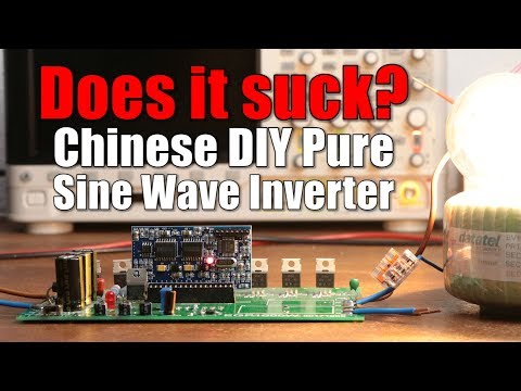 Does it suck? Chinese DIY Pure Sine Wave Inverter || Sinusoidal PWM (SPWM) Tutorial