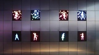 Samsung's Moving Modular Display Concept TV LED Tiles at CES 2016