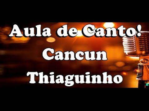 karaokê Cancun - Thiaguinho