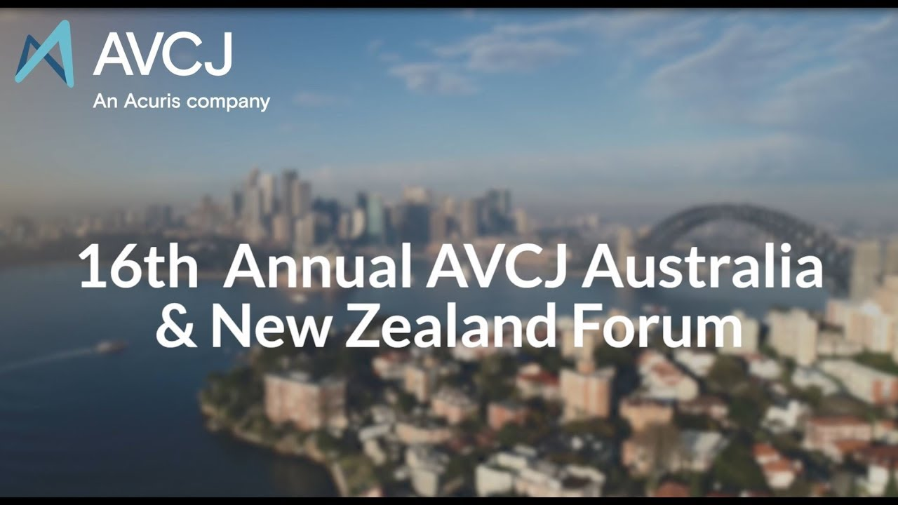 The 17th Annual AVCJ Australia & New Zealand Forum