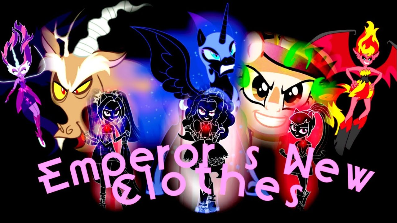 my little pony emperor s new clothes youtube