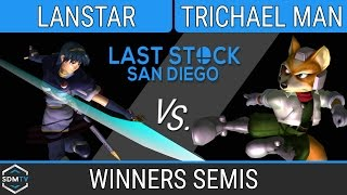 lssd 80 lanstar marth vs oxy trichael man fox ssbm winners semis smash melee