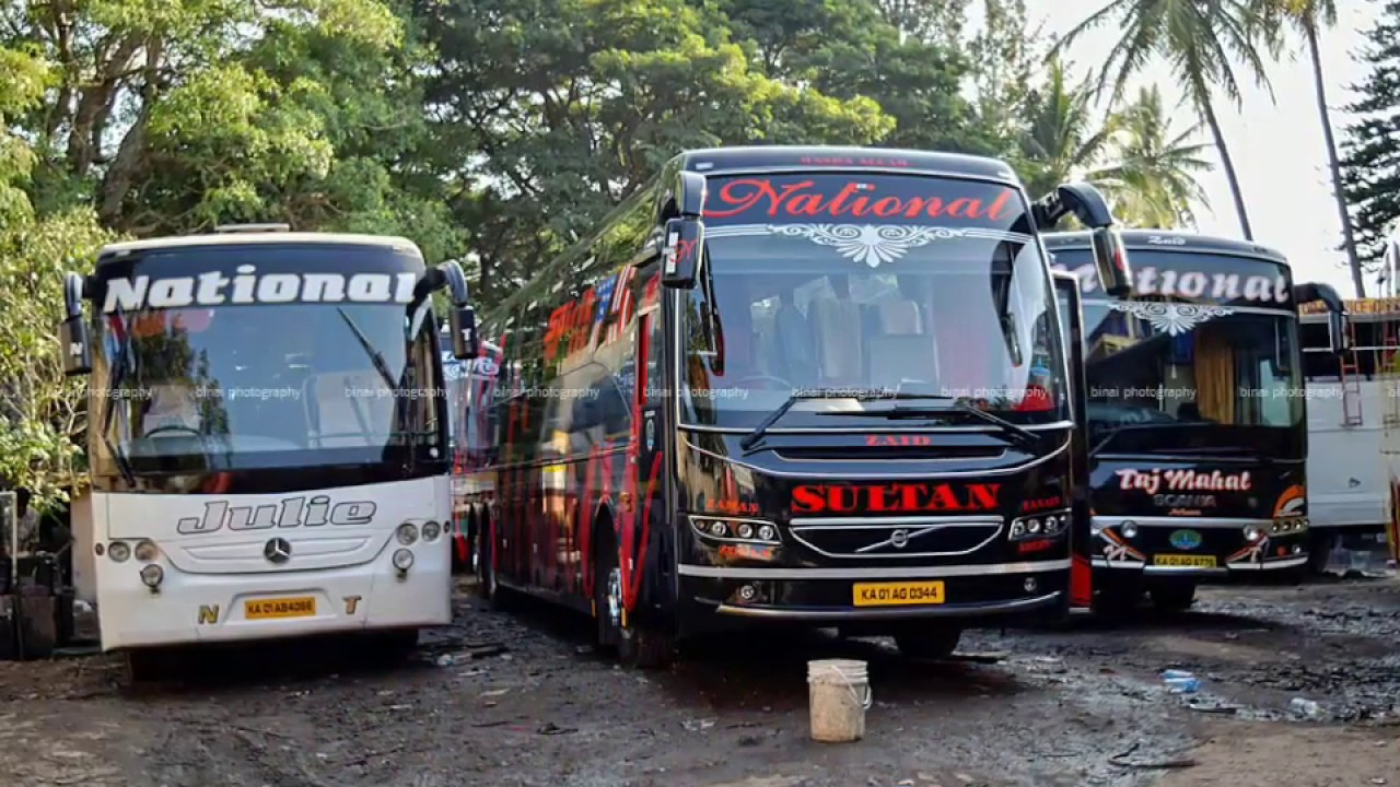 National Travels Sultan Volvo B11r I Shift Pic Credit Navin Anand K