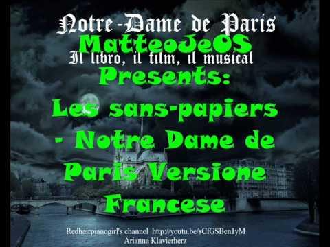 Les sans-papiers - Notre Dame de Paris Vers. Francese.wmv