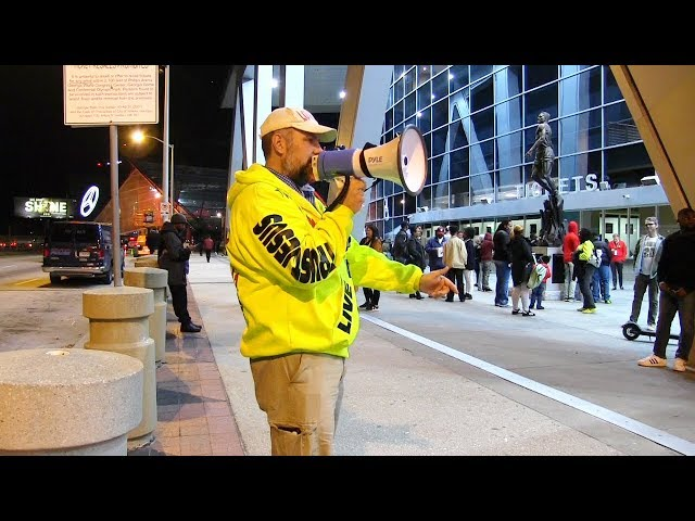 Atlanta Hawks Game & MARTA Street Preaching - Kerrigan Skelly of PinPoint Evangelism