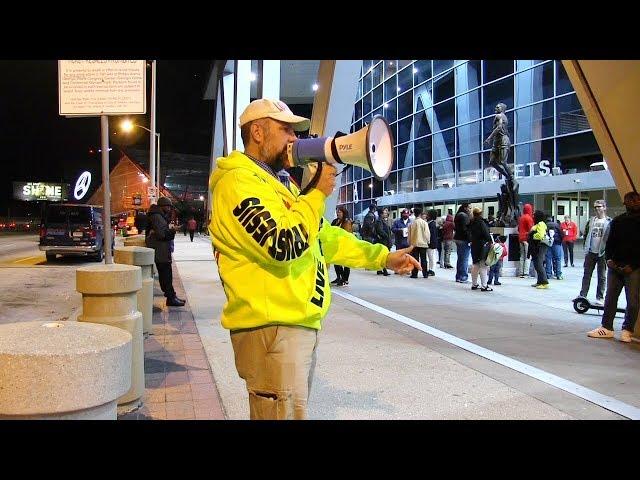 Atlanta Hawks Game & MARTA Street Preaching - Kerrigan Skelly of PinPoint Evangelism
